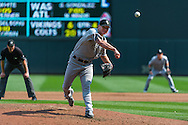 Jake Peavy #44  of the Chicago White Sox pitches during a game against the Minnesota Twins on September 16, 2012 at Target Field in Minneapolis, Minnesota.  The White Sox defeated the Twins 9 to 2.  Photo: Ben Krause