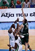 DESCRIZIONE : Atene Eurolega 2008-09 Quarti di Finale Gara 1 Panathinaikos Montepaschi Siena<br /> GIOCATORE : Nikola Pekovic<br /> SQUADRA : Panathinaikos<br /> EVENTO : Eurolega 2008-2009<br /> GARA : Panathinaikos Montepaschi Siena<br /> DATA : 24/03/2009<br /> CATEGORIA : tiro<br /> SPORT : Pallacanestro<br /> AUTORE : Agenzia Ciamillo-Castoria/Action Images.gr