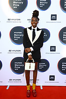 Little Simz attends the media room during 2019 Hyundai Mercury Prize, Eventim Apollo, London, UK, Saturday 06 July 2019<br /> Photo JM Enternational