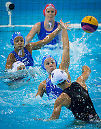 PAINTER-SNELL Francesca, di MARIO Tania.Great Britain Vs. Italy.Water Polo men preliminary Round.London 2012 Olympics - Olimpiadi Londra 2012.day 08 Aug 3.Photo G.Scala/Deepbluemedia.eu/Insidefoto