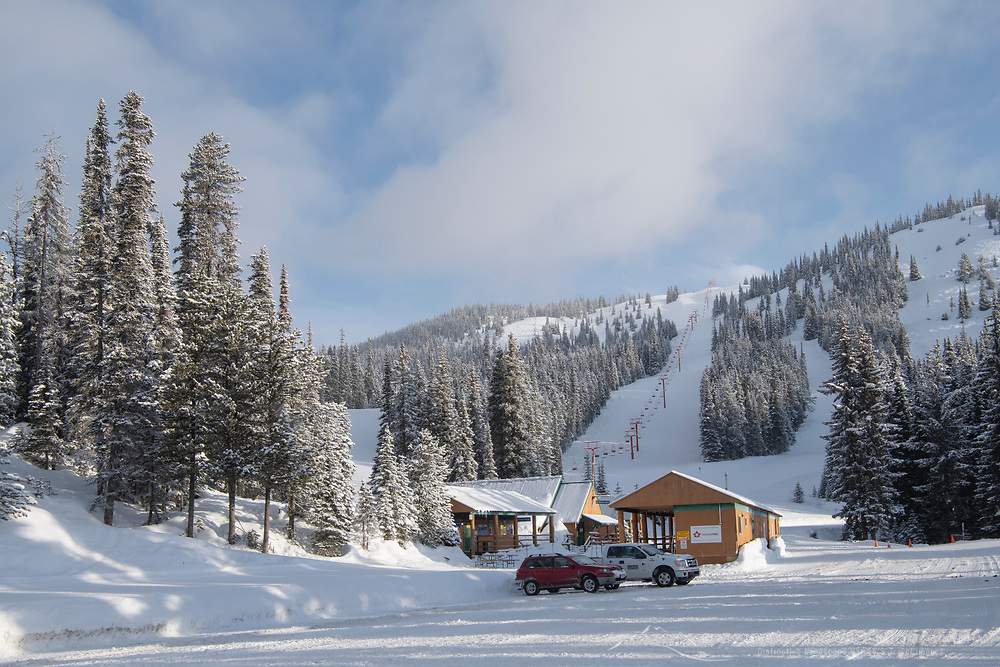 Gibson Pass Ski Area, Manning Provincial Park British Columbia
