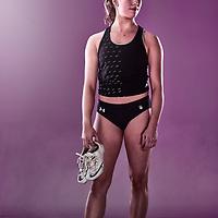 Brianna Andrews of the University of Saskatchewan Huskies Track & Field team.