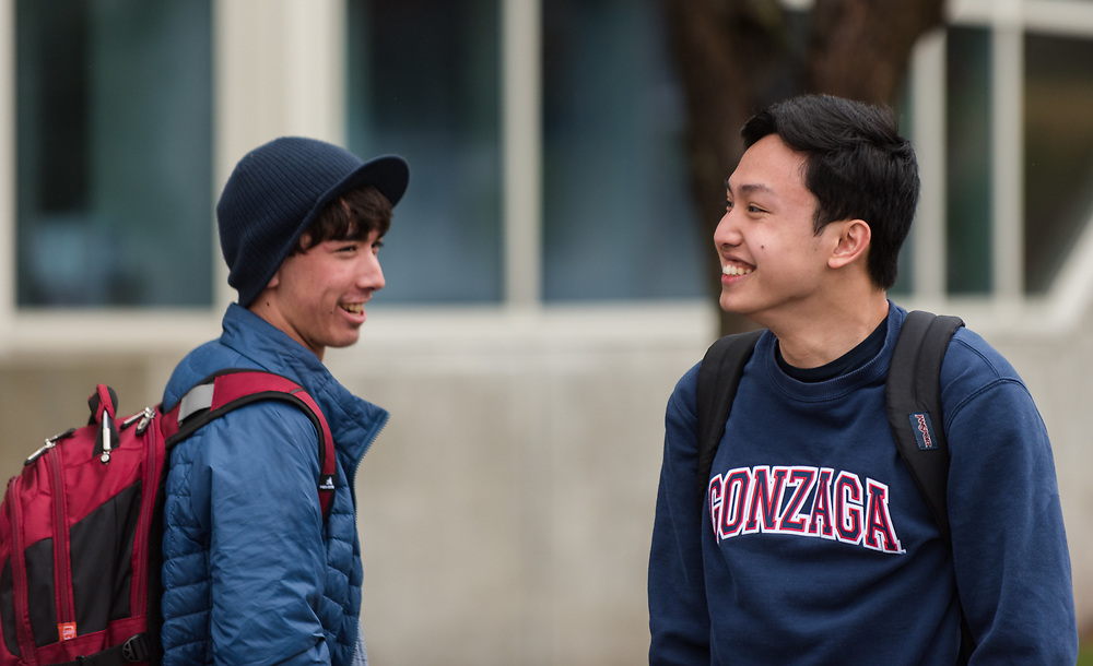The Spokane community came out to celebrate Gonzaga University's men's basketball team's first appearance in the Final Four in school history on March 29th, 2017 at the McCarthey Athletic Center in Spokane, WA. (Photo by Edward Bell)