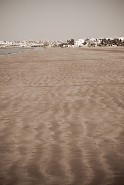 Muscat Beach, morning