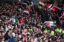 Bristol City fans  - Mandatory by-line: Joe Meredith/JMP - 27/01/2018 - FOOTBALL - Ashton Gate Stadium - Bristol, England - Bristol City v Queens Park Rangers - Sky Bet Championship