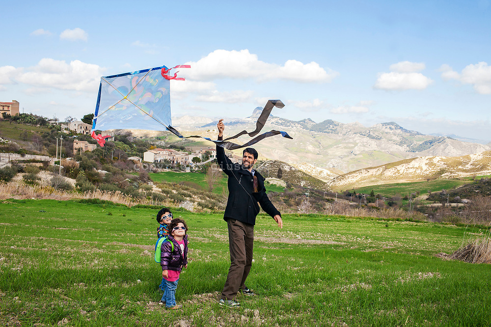 3 Febbraio 2016, Milena, Sicilia, Italia - Sayed Yousof Hussaini, 29 anni.