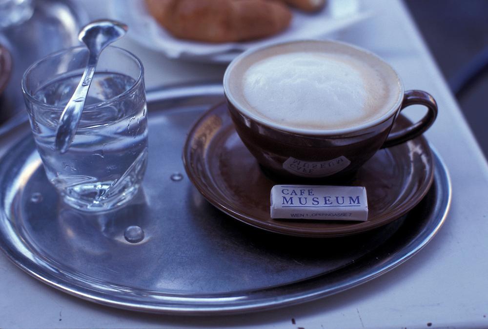 Coffee at Cafe Museum, Vienna, Austria