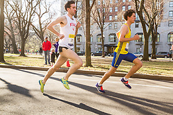 Boston Marathon: BAA 5K road race, James Leakos, BAA, NYAC,
