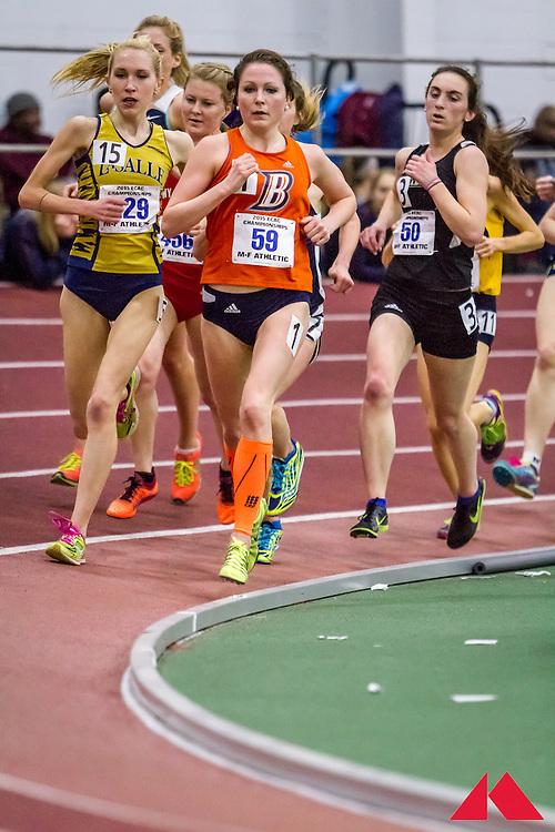 ECAC Indoor Champs, womens 5000, Jessee, Katie             SR Bucknell