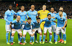 Manchester City team group - Mandatory byline: Matt McNulty/JMP - 15/03/2016 - FOOTBALL - Etihad Stadium - Manchester, England - Manchester City v Dynamo Kyiv - Champions League - Round of 16