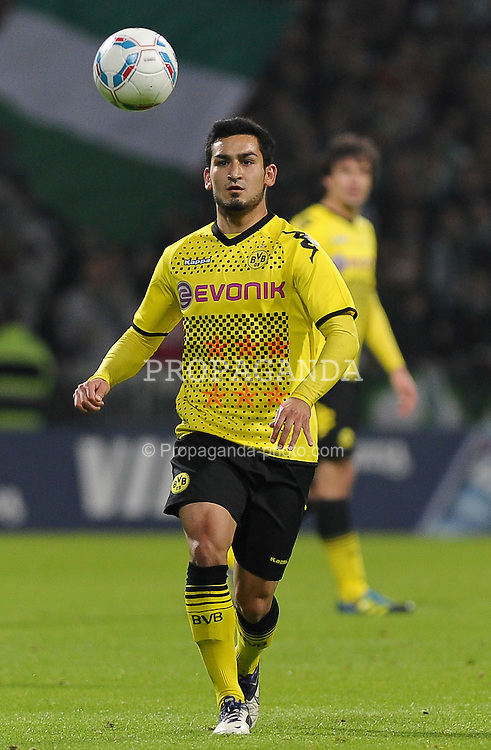 14.10.2011, Weserstadion, Bremen, GER, 1.FBL, Werder Bremen vs Borussia Dortmund, im Bild Ilkay Gündogan / Guendogan (Dortmund #21)..// during the match Werder Bremen vs Borussia Dortmund on 2011/10/14, Weserstadion, Bremen, Germany..EXPA Pictures © 2011, PhotoCredit: EXPA/ nph/  Frisch       ****** out of GER / CRO  / BEL ******