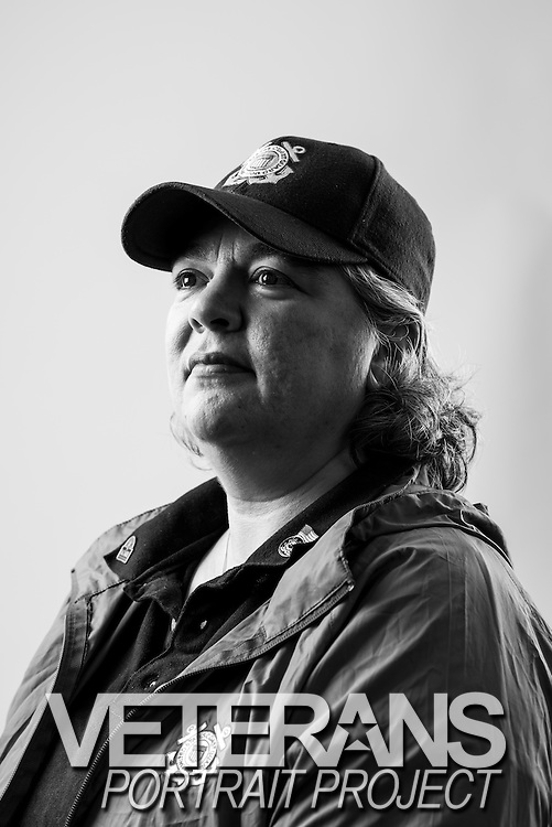 Amy Gaskill<br /> Army<br /> Coast Guard<br /> E-6<br /> Public Affairs<br /> Aug. 1983 - Nov. 2006<br /> Desert Storm, OEF<br /> <br /> Veterans Portrait Project<br /> Springfield, MA