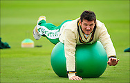 Graeme Smith of South Africa during a training session at Headingley on the 16th of July 2008..England v South Africa.Photo by Philip Brown.www.philipbrownphotos.com