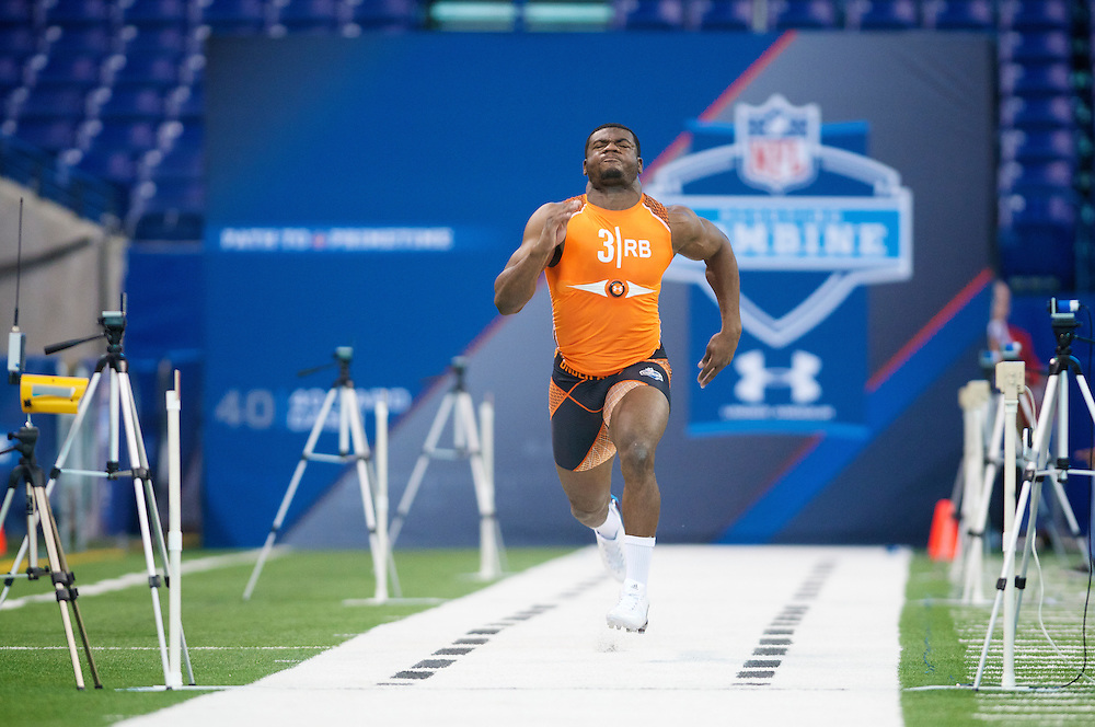 NFL Scouting Combine on Sunday, Feb. 26, 2012 in Indianapolis, IN.