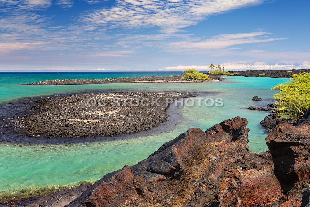 Kiholo Bay on the Big Island of Hawaii
