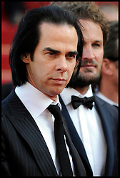 Nick Cave attends the 'Lawless' Premiere during the 65th Annual Cannes Film Festival at Palais des Festivals, Cannes, France, Saturday May 19, 2012. Photo by Andrew Parsons/i-Images.Nick Cave attends the 'Lawless' Premiere during the 65th Annual Cannes Film Festival at Palais des Festivals, Cannes, France, Saturday May 19, 2012. Photo by Andrew Parsons/i-Images.