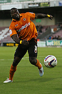 Picture by David Horn/Focus Images Ltd +44 7545 970036.30/08/2012.George Elokobi of Wolverhampton Wanderers during the Capital One Cup match at Sixfields Stadium, Northampton.