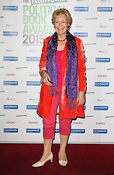 © Licensed to London News Pictures. 28/01/2015, UK. Christine Hamilton,, The Paddy Power Political Book Awards, BFI Imax, London UK, 28 January 2015. Photo credit : Richard Goldschmidt/Piqtured/LNP