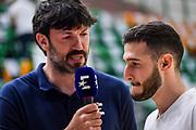 Andrea Meneghin, Marco Spissu<br /> Banco di Sardegna Dinamo Sassari - Umana Reyer Venezia<br /> LBA Serie A Postemobile 2018-2019 Playoff Finale Gara 4<br /> Sassari, 16/06/2019<br /> Foto L.Canu / Ciamillo-Castoria