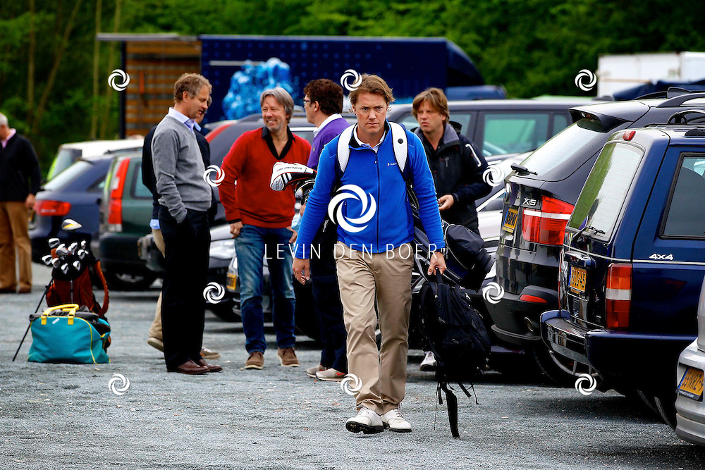 BADHOEVEDORP - De DON Masters is een celebrity golftoernooi, waarbij iedere flight bestaat uit 3 deelnemers en 1 bekende Nederlander. Het toernooi plaats op Golfclub The International. Met op de foto  Jeroen Rietbergen. FOTO LEVIN DEN BOER - PERSFOTO.NU