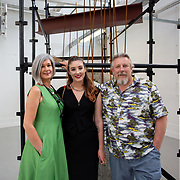 "03.06.2018.        <br /> An In-FLUX of visitors attended LSAD, Limerick School of Art and Design for one of Ireland's largest and most vibrant Graduate Shows.<br /> <br /> More than 200 Fine Art and Design students' work went on display from June 2 to June 10, 2018 at the LSAD Graduate Show - FLUX.<br /> LSAD has been central to Art, Craft and Design in the Limerick and Midwest region since 1852.<br />  <br /> The concept, branding and overall design of the 2018 LSAD Graduate Show - FLUX – is student led, and begins this Saturday June 2 and runs until June 10, 2018.<br />  <br /> FLUX encapsulates the movement and change from student to graduate. ""The ""X"" in ""FLUX"" represents the students and how they have made their mark in their time at college,"" explains designers Cathy Hogan and Will Harte as they outline the thinking behind the concept.<br />  <br /> FLUX describes the dynamic movement in the Limerick city region as it overcomes significant issues to become a fulcrum of rejuvenation, vibrant culture, strong industry growth and a centre of design.<br />  <br /> LSAD is also in a state of FLUX as it develops its enterprise potential and engagement with stakeholders across industry, public bodies, third level institutions and other partners overseeing a shift towards design, creativity and connectivity that goes far beyond the walls of its main campus on Clare Street. Picture: Alan Place"
