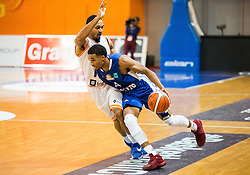 Brandyn Theodore Curry #10 of Helios Suns vs Kwame Vaughn of Fraport Skyliners during basketball match between KK Helios Suns (SLO) and Fraport Skyliners (GER) in Round #3 of FIBA Champions League 2016/17, on November 2, 2016 in Sports Hall Domzale, Slovenia. Photo by Vid Ponikvar / Sportida