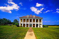 General Beauregard's mansion, Chalmette Battlefield, near New Orleans, Louisiana USA