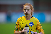 Sophie Harris (Brighton & Hove) during the Brighton and Hove Albion Women vs Arsenal Women, FA WSL Cup at The People's Pension Stadium, Crawley, England on 3 November 2019.