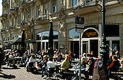 Deutschland Germany Hessen.Hessen, Wiesbaden.Cafe Havanna am Dernschen Gel?nde., Havanna cafe...