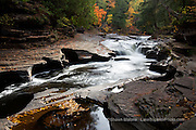 Presque Isle River, Autumn, Porcupine Mountains