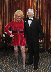 Dolly Parton and Kenny Rodgers Brendan Mulroy and Kevin Kelly ready to step it out at Westport United&rsquo;s &lsquo;Stars in their Eyes&rsquo; on friday night last.<br /> Pic Conor McKeown