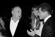 JACQUI AINSLEY; JOSH BERGER; LEN BLAVATNIK Luminous -Celebrating British Film and British Film Talent,  BFI gala dinner & auction. Guildhall. City of London. 6 October 2015.