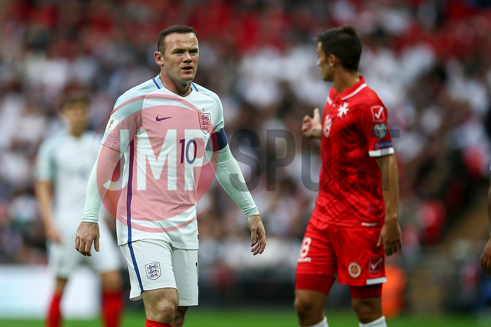 Wayne Rooney of England - Mandatory by-line: Jason Brown/JMP - 08/10/2016 - FOOTBALL - Wembley Stadium - London, United Kingdom - England v Malta - FIFA European World Cup Qualifiers