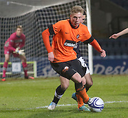 12-02-2013- Dundee v Dundee United Under 20s
