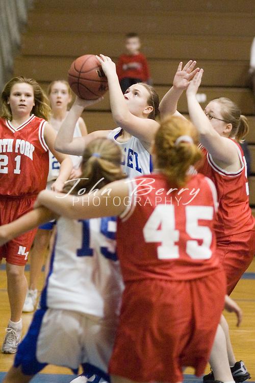 Wetsel Girls vs North Fork.January 12, 2005