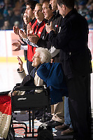 KELOWNA, CANADA, NOVEMBER 23: Prince George Cougars visit the Kelowna Rockets  on November 23, 2011 at Prospera Place in Kelowna, British Columbia, Canada (Photo by Marissa Baecker/Shoot the Breeze) *** Local Caption ***