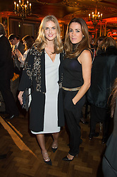 Left to right, DONNA AIR and NATALIE PINKHAM at the Cointreau Creative Crew Launch at the Cafe Royal, Regent's Street, London on 27th October 2015.