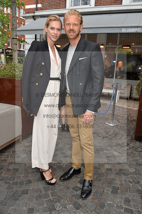 Alistair Guy and Barbora Bediova at the Aspall Tennis Classic Players Party hosted by Aspall and Taylor Morris Eyewear at Bluebird, 350 King's Road, Chelsea, London England. 28 June 2017.<br /> Photo by Dominic O'Neill/SilverHub 0203 174 1069/ 07711972644 - Editors@silverhubmedia.com
