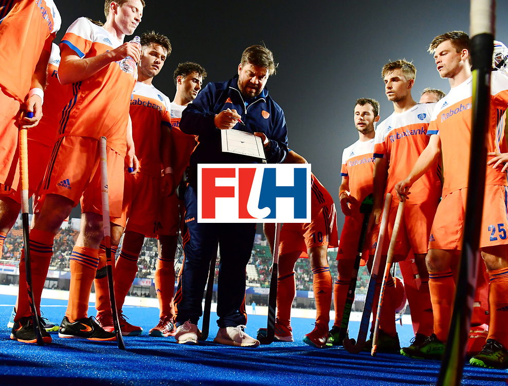 Odisha Men's Hockey World League Final Bhubaneswar 2017<br /> Match id:16<br /> Germany v Netherlands<br /> Foto: bondscoach Max Caldas (Ned) <br /> COPYRIGHT WORLDSPORTPICS FRANK UIJLENBROEK