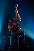 Greta Van Fleet perform on October 19, 2017 at the Troubadour in West Hollywood, California (Photo: Charlie Steffens)