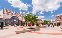 Exterior photo of Westview Promenade Shopping Center in Frederick Maryland by Jeffrey Sauers of Commercial Photographics, Architectural Photo Artistry in Washington DC, Virginia to Florida and PA to New England