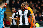 Duckens Nazon of St Mirren during the Ladbrokes Scottish Premiership match between St Mirren and Livingston at the Simple Digital Arena, Paisley, Scotland on 2nd March 2019.