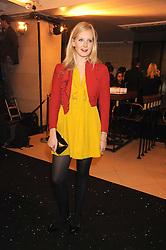 SAVANNAH MILLER at the 2008 British Fashion Awards held at the Lawrence Hall, Westminster, London on 25th November 2008.