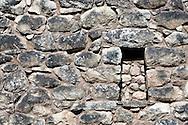 Stonework of the Incas within Machu Picchu in Peru.