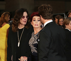 Ozzy Osbourne, Sharon Osbourne, Jack Osbourne, Pride of Britain Awards, Grosvenor House Hotel, London UK. 28 September, Photo by Richard Goldschmidt /LNP © London News Pictures