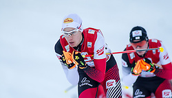 21.12.2014, Nordische Arena, Ramsau, AUT, FIS Nordische Kombination Weltcup, Langlauf, im Bild Mario Seidl (AUT) // during Cross Country Gundersen 10 km of FIS Nordic Combined World Cup, at the Nordic Arena in Ramsau, Austria on 2014/12/21. EXPA Pictures © 2014, EXPA/ JFK