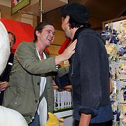 NLD/Amsterdam/20070922 - Opening Woenzel en Pip shop Bijenkorf, Johnny de Mol en Dinand Woesthoff