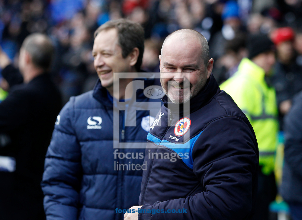 Reading manager Steve Clarke looks on during the Sky Bet Championship match at the Madejski Stadium, Reading<br /> Picture by Andrew Tobin/Focus Images Ltd +44 7710 761829<br /> 31/01/2015