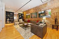 Living Room at 83 Spring Street