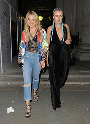 Tallia Storm attends LFW s/s 2017: Pam Hogg catwalk show & afterparty during London Fashion Week at The Freemasons' Hall in London. UK. 16/09/2016<br />